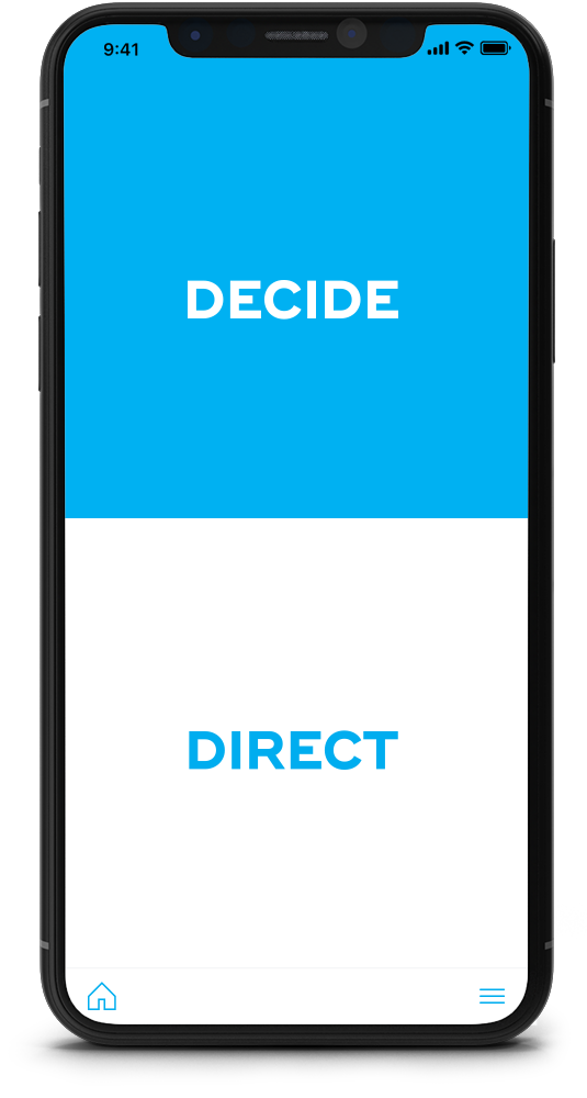 Rekon App make the right decision
